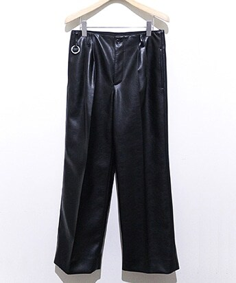 ANISH/SEMI-WIDE TAILORED PANTS SL