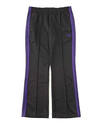 Boot-Cut Track Pant-Poly Smooth