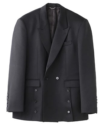 FRONT SIDE BUTTONED JACKET