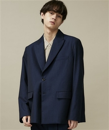 GABARDINE TAILORED JACKET
