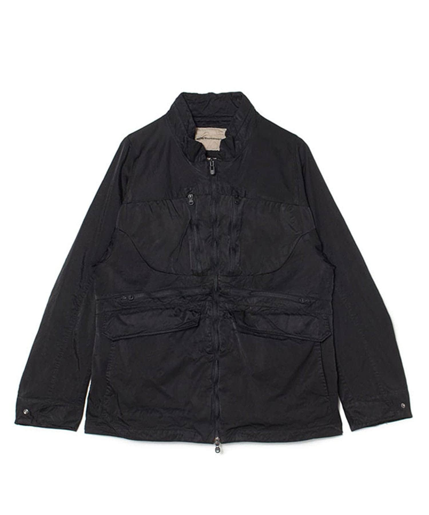 SHRINKED CONTRASTED JACKET