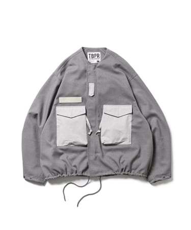 TBPR / COLLARLESS FIELD JKT