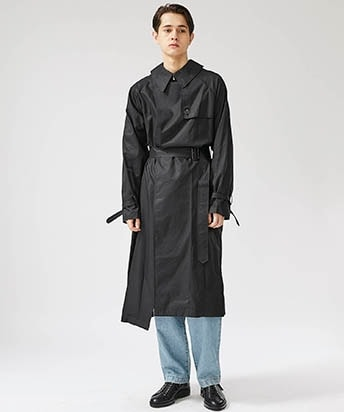 SWITCH TRENCH COAT