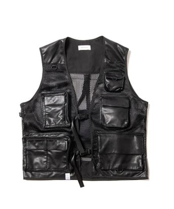 LEATHER TACTICAL VEST