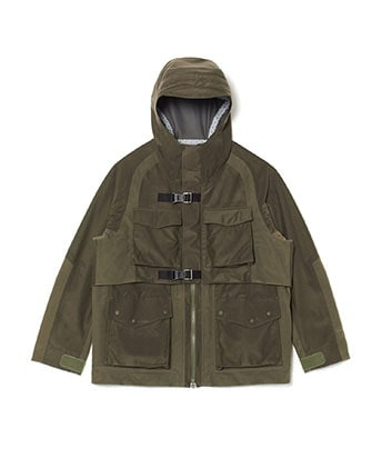 GORE-TEX PACLITE MIXED MOUNTAIN PARKA