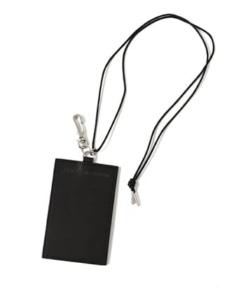 LEATHER SQUARE CARD CASE