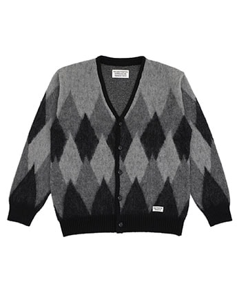 DIAMOND MOHAIR CARDIGAN