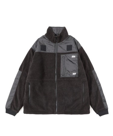 STUDIOUS別注×AbuGarcia FLEECE JKT