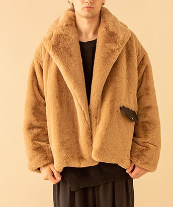 FUR DOUBLE JKT
