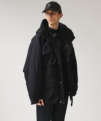 STUDIOUS別注 NYLON OVERSIZED MOUNTAIN PARKA