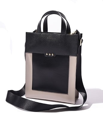 COLOR BLOCK MINI TOTE
