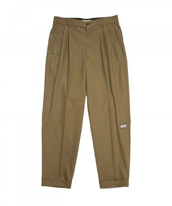 2TUCK TAPERED PANTS