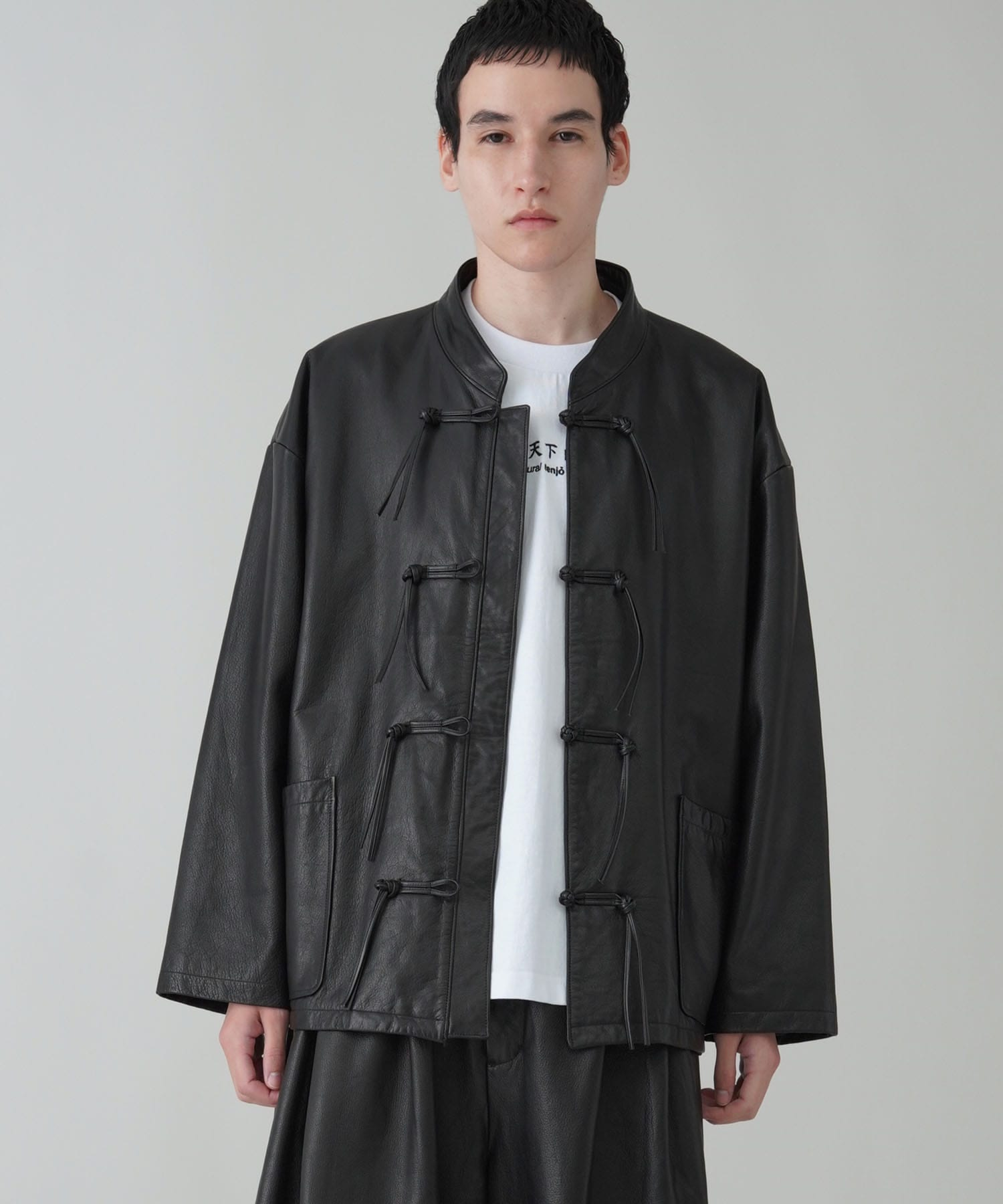 Leather Chaina Blouson