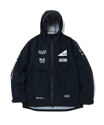 GORE-TEX LOGO PRINTED MOUNTAIN PARKA