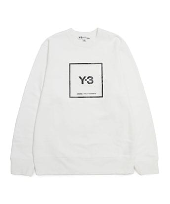 U SQUARE LABEL GRAPHIC CREW SWEATSHIRTS