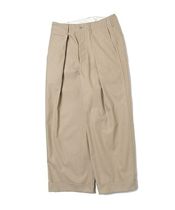 41 KHAKI WIDE PANTS