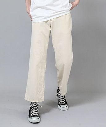 SIDE GATHER WIDE PANTS