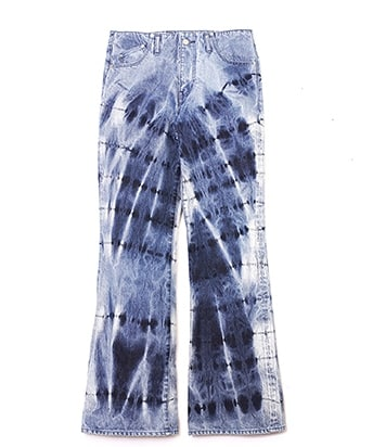 DENIM FLARE JEANS CHAOTIC