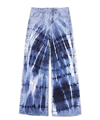 DENIM WIDE LEG JEANS