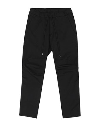STRETCH TWILL BIKER EASY PANTS