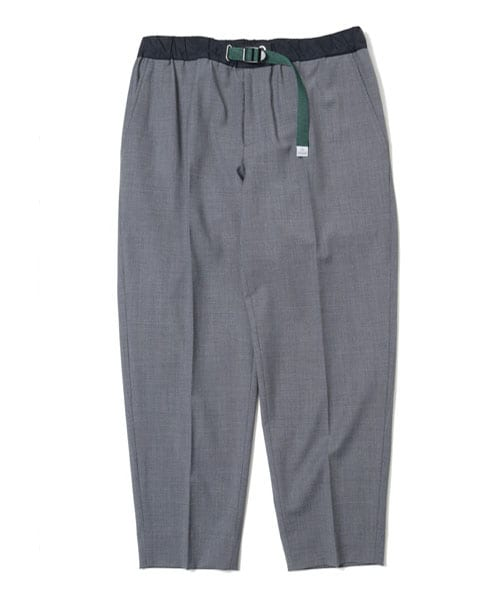 WOOL TROPICAL PANTS