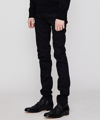 RIGID DENIM SKINNY PANTS