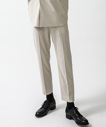 STUDIOUS別注 EASY GENTS TROUSERS
