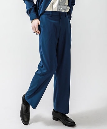 STUDIOUS別注 EASY GENTS WIDE TROUSERS