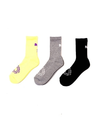 F-LAGSTUF-F x Name. 3P SOCKS