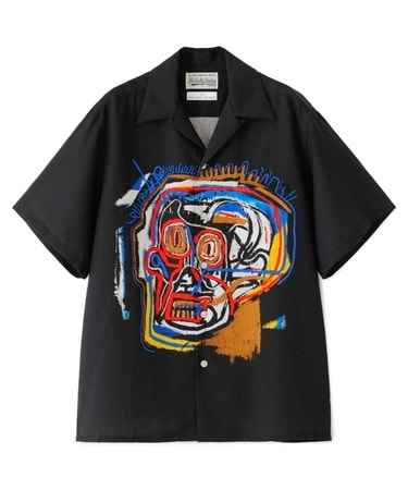JEAN-MICHEL BASQUIAT / S/S HAWAIIAN SHIRT ( TYPE-1 )