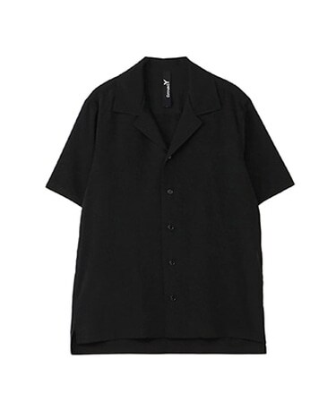 Short Sleeves Open Collar Shirt