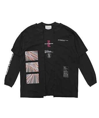 THE MIDNIGHT TOKYO REFLECTOR 02 PACKING TEE EXCHANGE