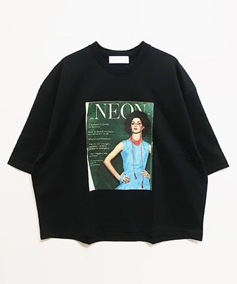 Ne QUILTED WIDE T-SHIRT