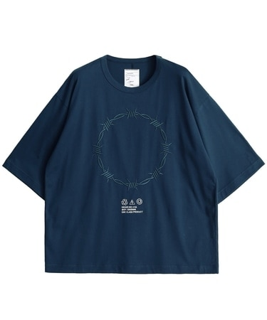 BARBED WIRE emb. S/S BIG T