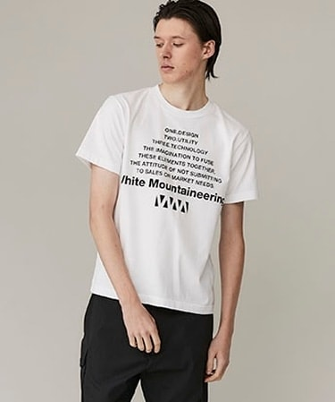 BIG W LOGO PRINTED T-SHIRT
