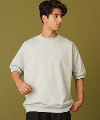ONE SIDE RAGLAN SWEAT SHIRT S/S