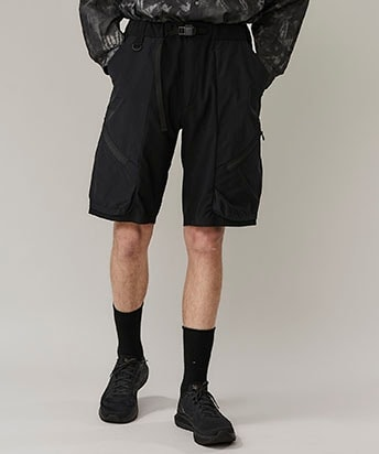STRETCHED CRAGO SHORT PANTS