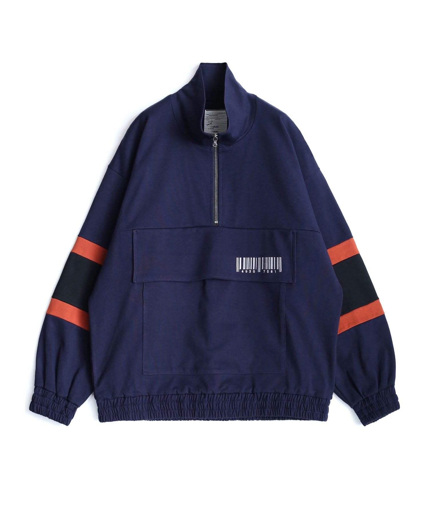 BIG POCKET HALF ZIP PO