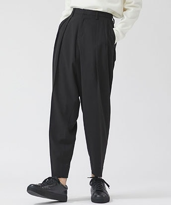 STUDIOUS限定WIDE TAPERED PANTS