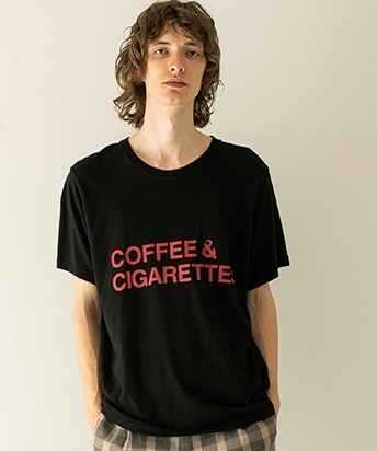 COFFEE AND CIGARETTES プリントティー