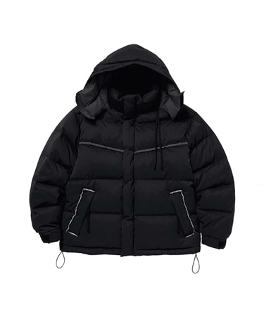 NYLON BUBBLE DOWN JACKET