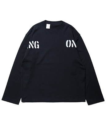 STUDIOUS限定 TRNG ONLY L/S TEE