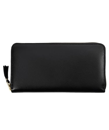 CLASSIC LEATHER ZIP LONG WALLET