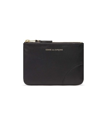 CLASSIC LEATHER ZIP POUCH S