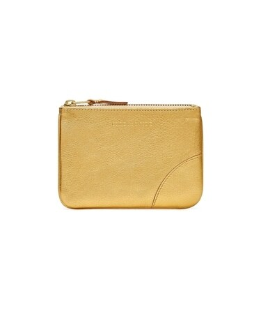 GOLD AND SILVER ZIP POUCH S