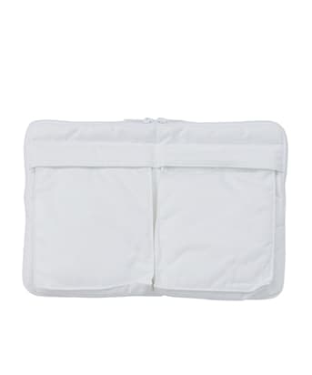 EX. White Clutch Bag