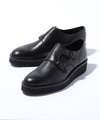STUDIOUS限定DOUBLE MONK STRAP SHOES