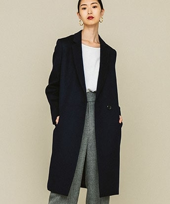 ONE BUTTON CHESTER COAT