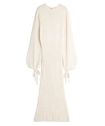 KNIT LONG DRESS